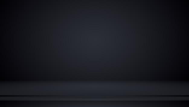 Dégradé noir de luxe abstrait avec fond de vignette de bordure toile de fond de studio - bien utiliser comme fond de toile de fond, fond de studio, cadre dégradé.