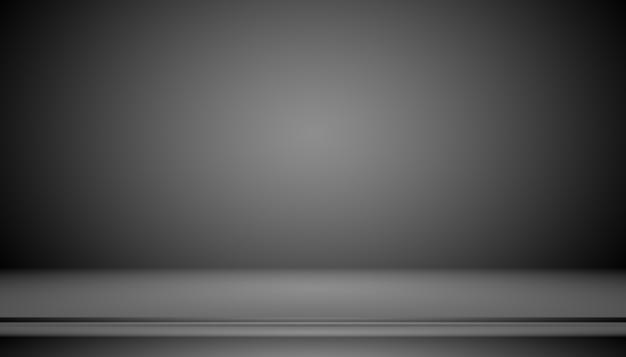 Dégradé noir de luxe abstrait avec fond de vignette de bordure toile de fond de studio - bien utiliser comme fond de toile de fond, fond de studio, cadre dégradé