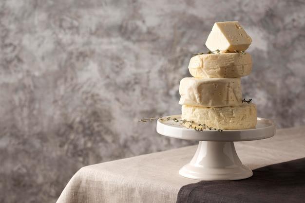 Délicieuse composition de fromage paneer