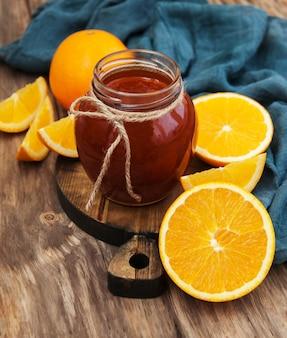 Délicieuse confiture d'orange