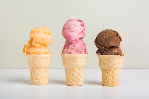 Délicieuse crème glacée