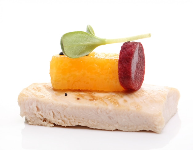 Délicieuse cuisine gastronomique