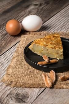 Délicieuse omelette aux pommes de terre