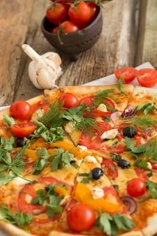 Délicieuse pizza