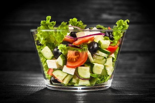 Délicieuse salade grecque