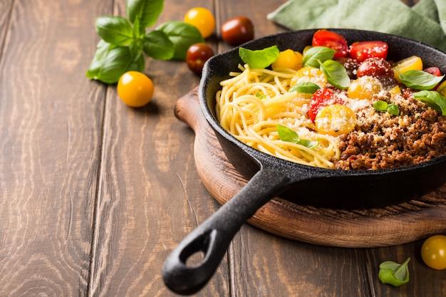 Délicieuse spaghetti bolognaise