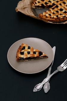 Délicieuse tarte aux bleuets