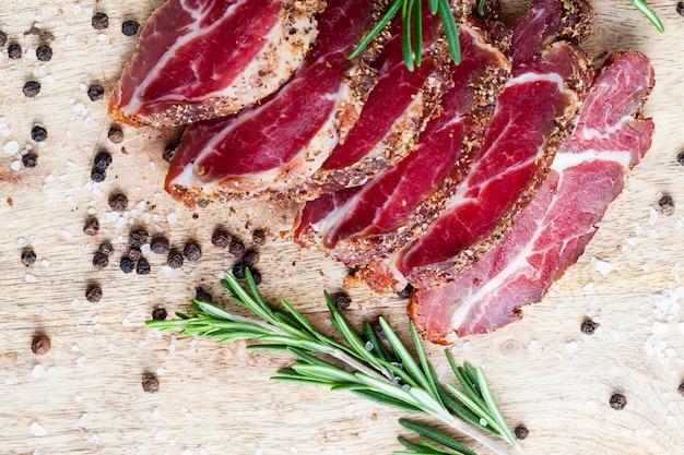 Délicieuse viande aux épices