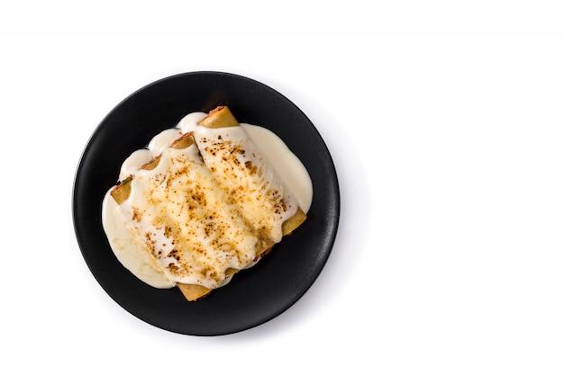 Délicieuses pâtes cannellonis à la viande