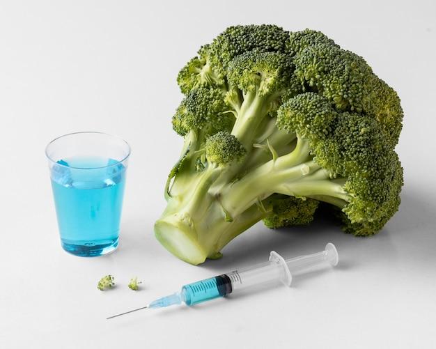 Délicieux aliment modifié aux ogm de brocoli