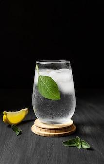 Délicieux arrangement de boisson mezcal