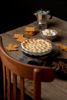 Délicieux arrangement de desserts s'mores