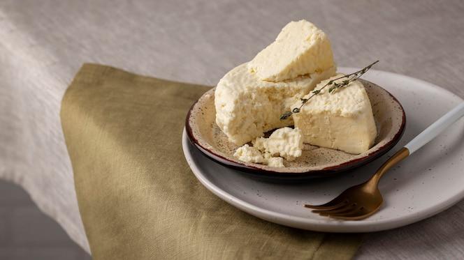 Délicieux arrangement de fromage paneer