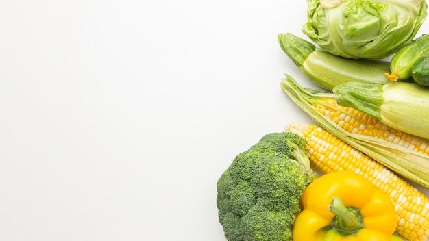 Délicieux arrangement de légumes