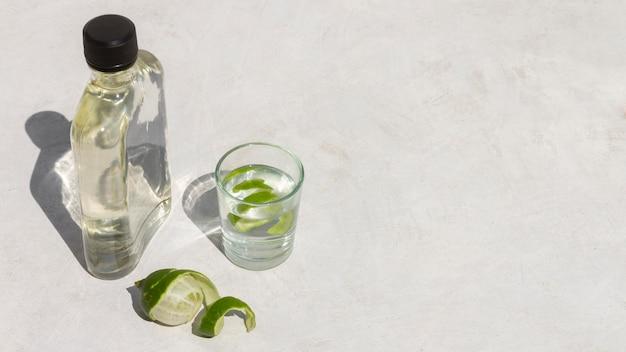 Délicieux assortiment de boissons alcoolisées mezcal