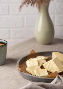 Délicieux assortiment de fromages paneer