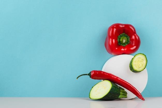 Délicieux assortiment de légumes frais