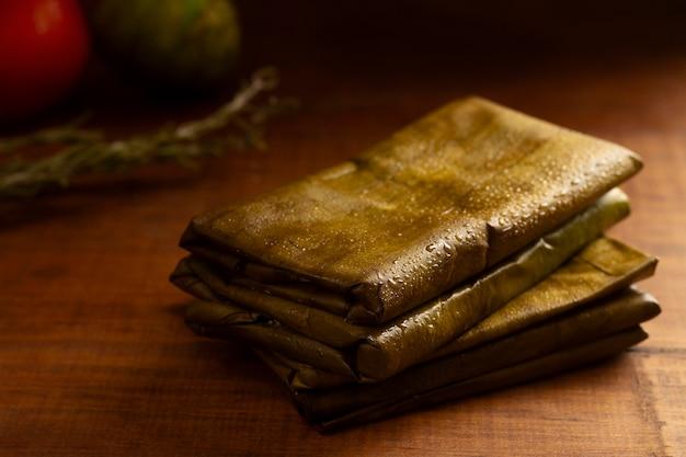 Délicieux assortiment de tamales traditionnels