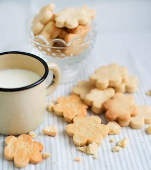 Délicieux biscuits au lait