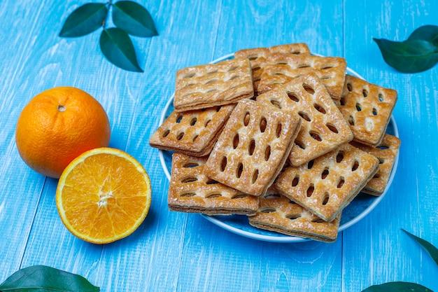 Délicieux biscuits feuilletés