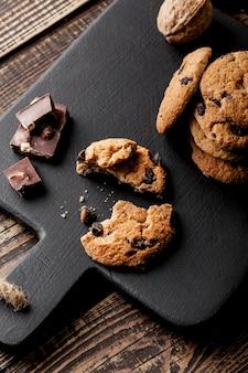 Délicieux biscuits à plat
