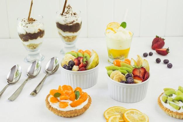 Délicieux buffet de desserts
