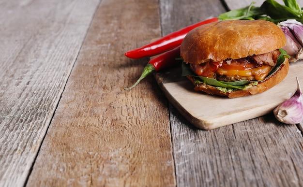 Délicieux burger