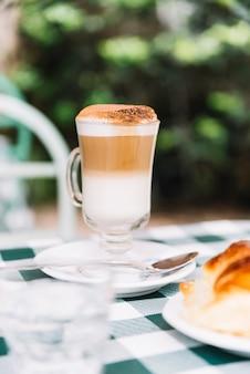 Délicieux café au lait