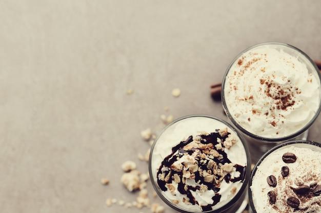 Délicieux café cappuccino