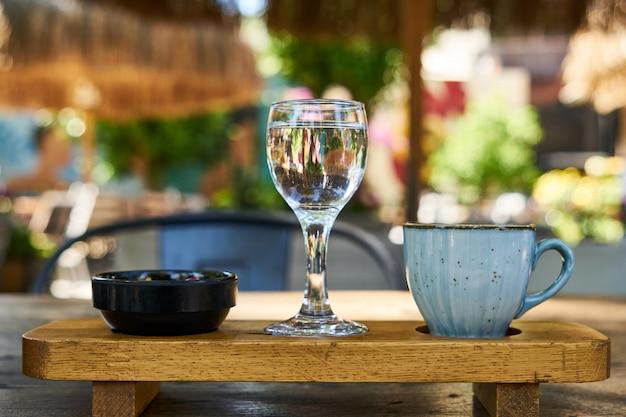 Délicieux café turc sur la table