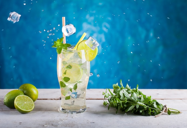 Délicieux cocktail mojito