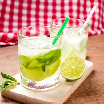 Délicieux cocktail de mojito
