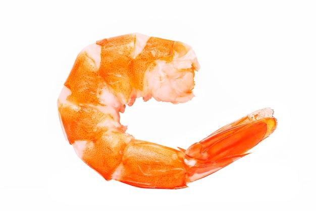Délicieux crevettes cuites