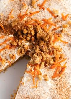 Délicieux dessert sain à la carotte