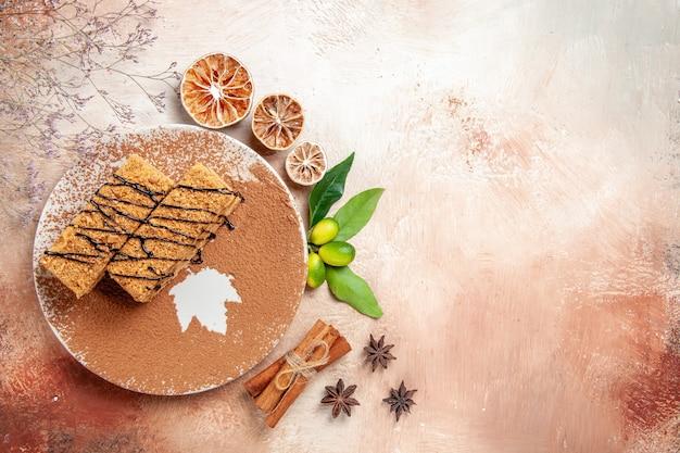Délicieux desserts sucrés et faits maison