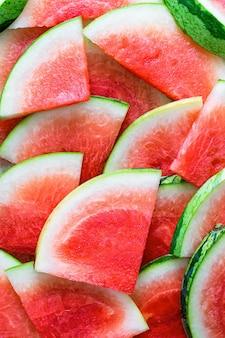 Délicieux fond d'écran de pastèque en tranches