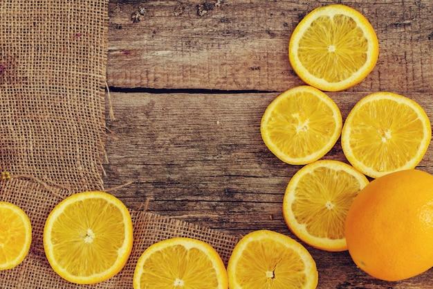 Délicieux fond orange
