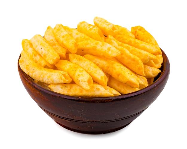 Délicieux frites légèrement épicées