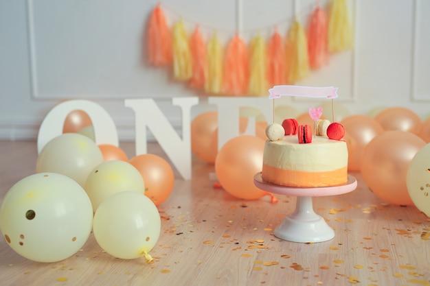 Un délicieux gâteau pour votre premier anniversaire