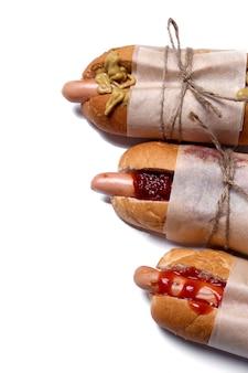 Délicieux hot dog