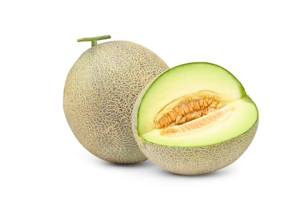 Délicieux melons verts