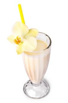 Délicieux milk-shake à la banane