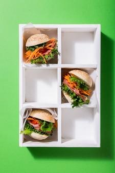 Délicieux mini burgers