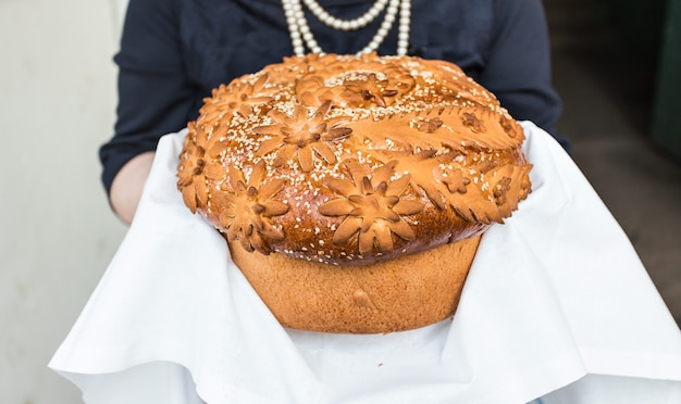 Délicieux pain de mariage.