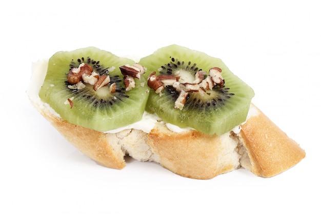 Délicieux toasts à sandwich