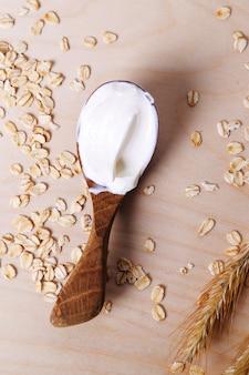 Délicieux yaourt