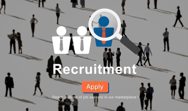 Demande de recrutement d'entreprise