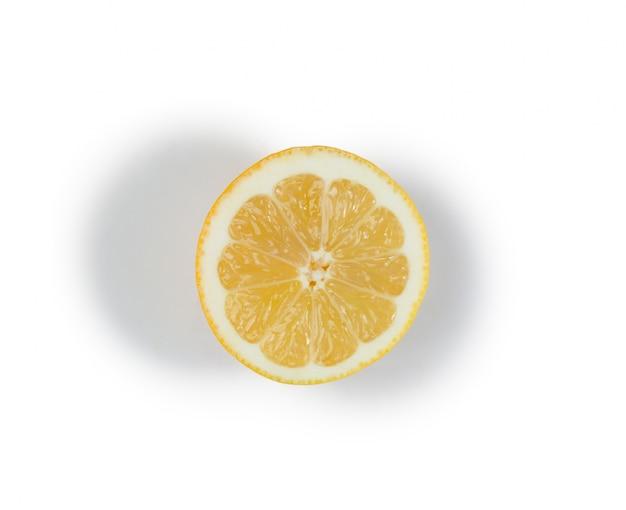 Demi citron jaune