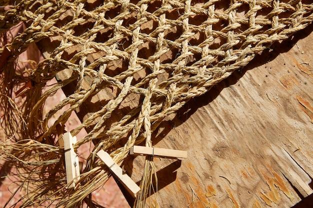 Demi-herbe esparto utilisé pour la vannerie artisanale