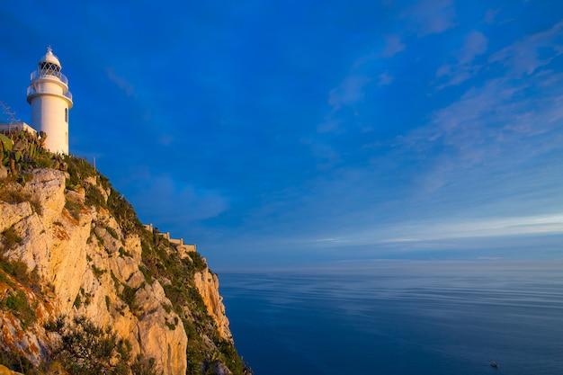 Denia javea san antonio cape phare de la méditerranée